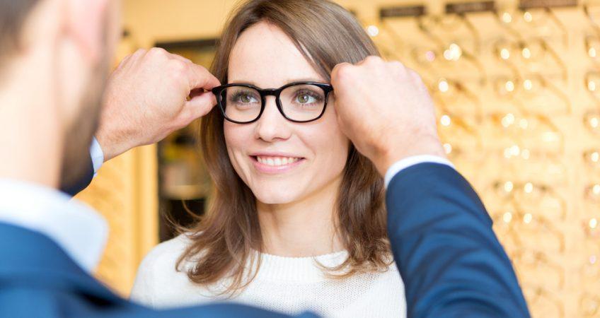 انواع کابرد عینک طبی
