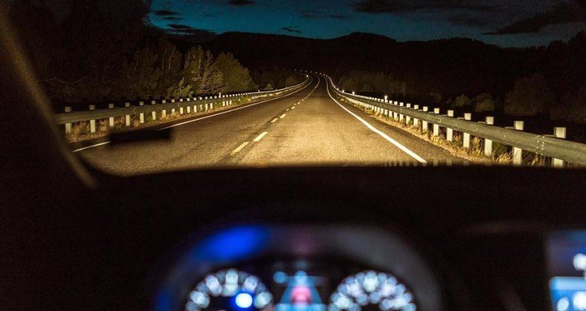 شرایط رانندگی در شب
