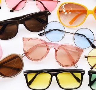 رنگ مناسب عینک آفتابی